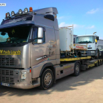 establish proposal for semi trailer recovery daf renault volvo man