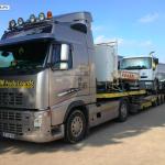 establish proposal for semi trailer recovery daf renault volvo man